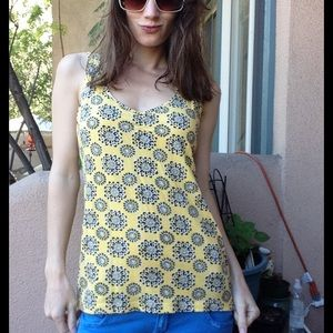 🎟 5 FOR $30 Gap Modal Cotton Sun Mandala Tank