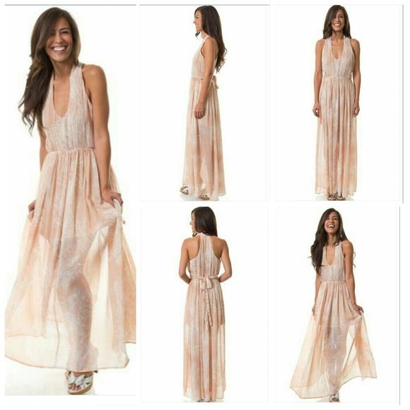 Dandelion maxi dress collection