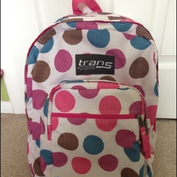 43% off Jansport Accessories - Polka dot Trans by Jansport ...