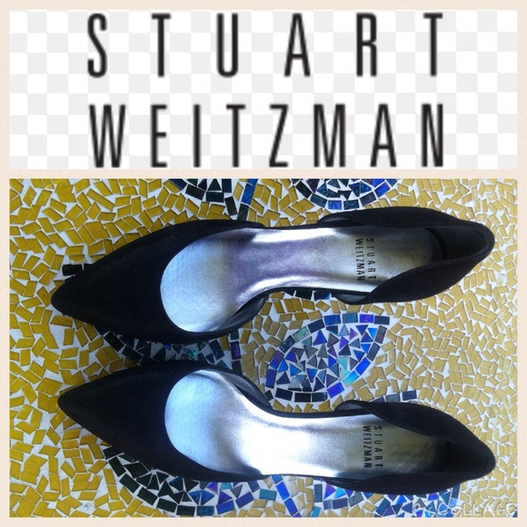 04342c03a53 Stuart Weitzman Twice D orsay pump-black