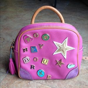 Pink Dooney and Bourke backpack.