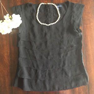Ruffle AE blouse