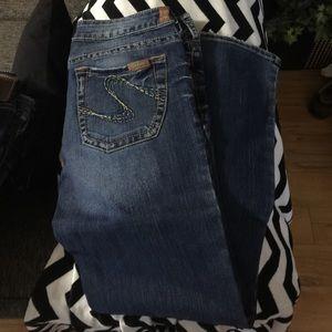 59% off Silver Jeans Denim - Silver November Cargo jeans size 32