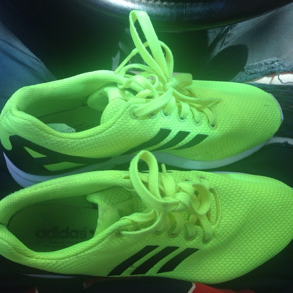 adidas samba green and yellow trainers for men