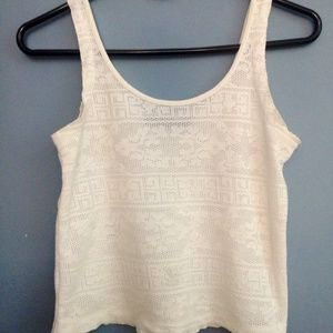 Topshop Tops - 🌲FINAL SALE🌲TOPSHOP ivory tank