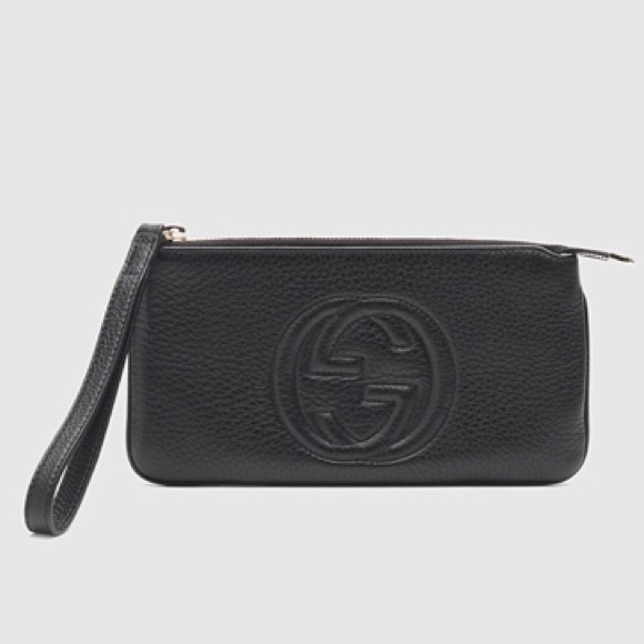 e7927354147b3b Gucci Clutches & Wallets - Gucci soho leather wrist wallet