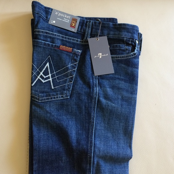 72% off 7 for all Mankind Denim - Brand new 7 for all Mankind ...