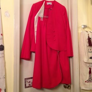 Other - Red suit jacket and skirt