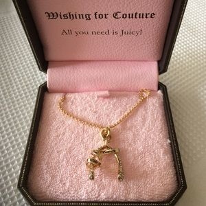 Juicy Couture Jewelry - Juicy Couture Wish Bone Necklace