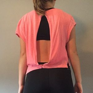 VS PINK work out/cover up top