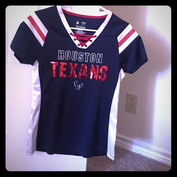 new style 64d48 fd072 Small Sequin NFL Houston Texans Womens Jersey