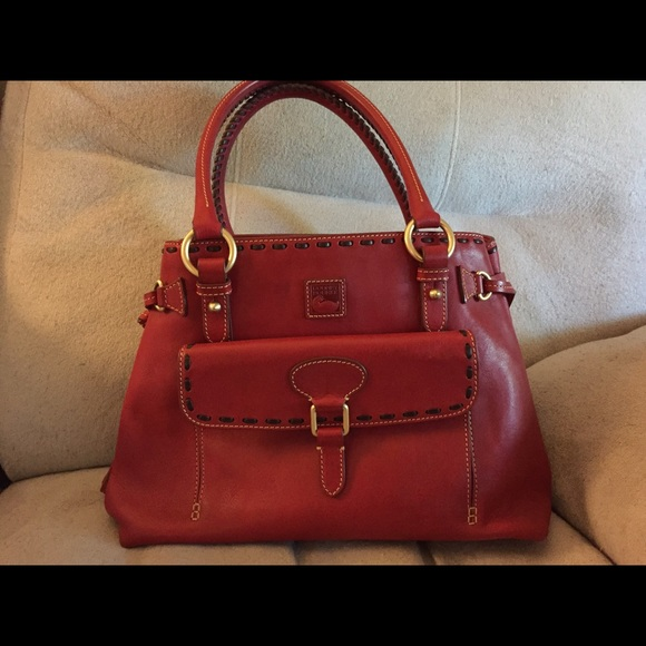 325957ad1269 69% off Dooney & Bourke Handbags - Beautiful red leather purse, gently used.