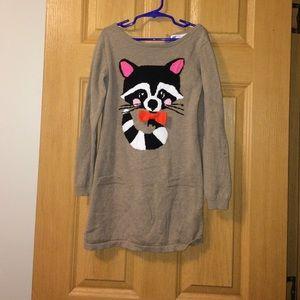 Kids Raccoon Dress