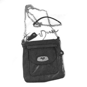 Junior Drake black crossbody