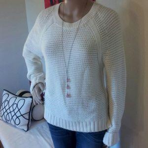 New banana republic wool chunk knit sweater
