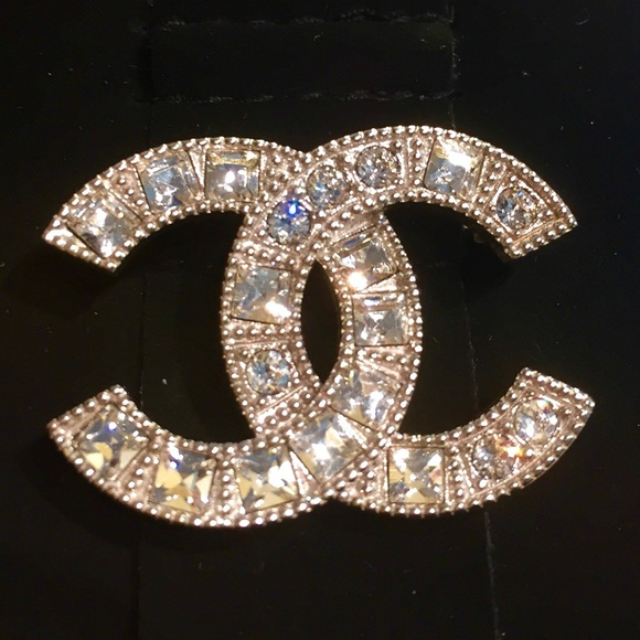 ab72c15742286 CHANEL Accessories | Sold Crystal Brooch 2015 Collection | Poshmark