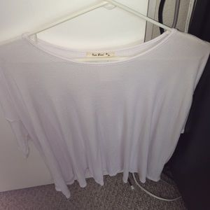 Tops - Oversized white tee