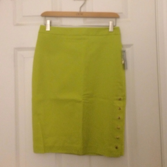 36 worthington dresses skirts lime green pencil
