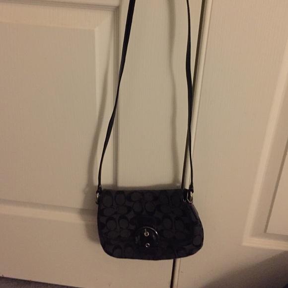 a71d5aa0f1d 🌹Sale🌹Small Black Coach Crossbody Bag