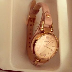 Fossil women's Georgia watch brand new rose gold