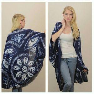 Tops - Scarf Kimono - OS