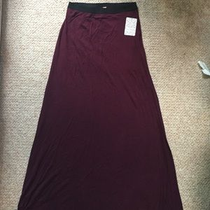 NWT Free People maxi skirt