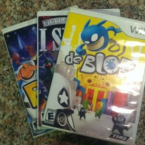 Other - Slightly used will games
