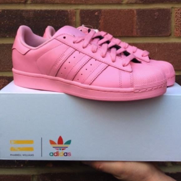 Baby Pink Adidas Superstar