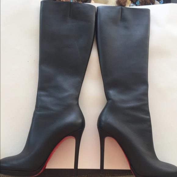 san francisco 24e6a c3e98 🚫SOLD🚫at eBay Christian louboutin boots