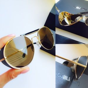 will.i.am & George Gorrow Sunglasses Blk/Gold