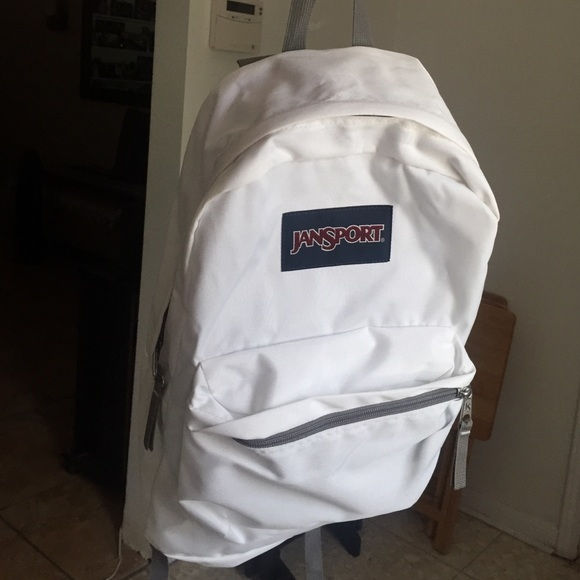 fast color sells search for official White JanSport Backpack