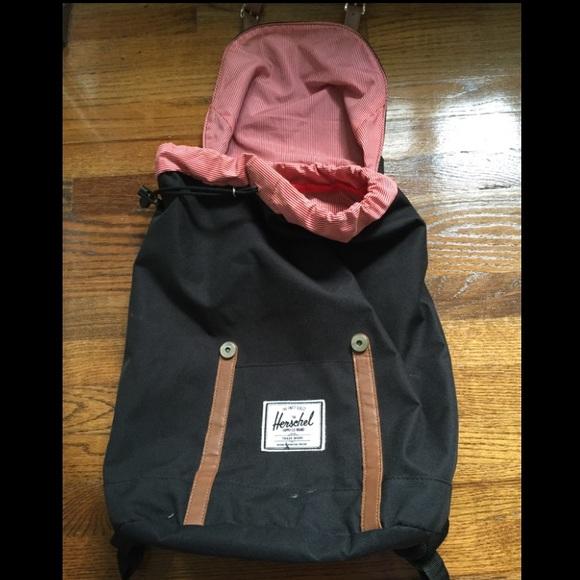 Herschel Handbags - Black Herschel Supply Co. Retreat Backpack 05859cc5dee36