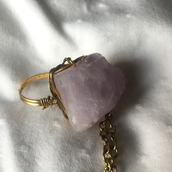 Light Purple Marble : Off free people jewelry light purple stone ring