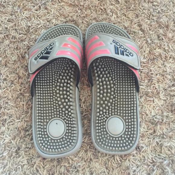 adidas shoes girls basketball slides poshmark