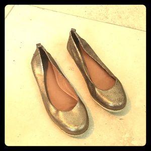 Golden Scale Ballet Flats for sale