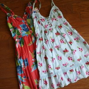 Hollister summer floral dresses
