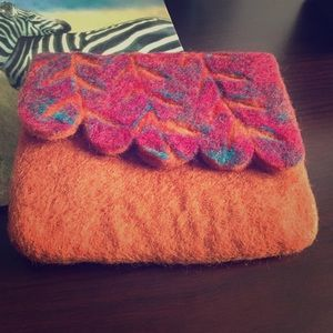 "Bella B Handbags - 🆕Handmade ""Fall Colors"" felt wallet"