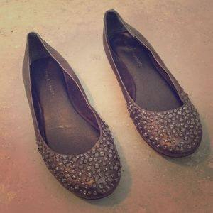 Banana Republic Jeweled Flats