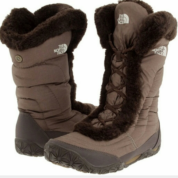 The North Face Nuptse Fur Iv Womens