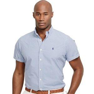 Polo by Ralph Lauren Other - Polo Ralph Lauren Big & Tall Checked Poplin Shirt