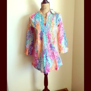 NWT Lilly Pulitzer Tunic Electric Feel