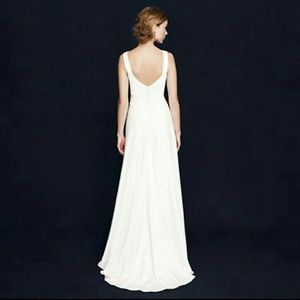 39% off J. Crew Dresses & Skirts - J.Crew Percy gown wedding from ...