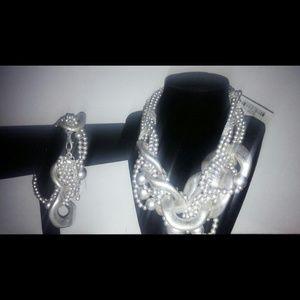 Hollywood necklace n bracelet