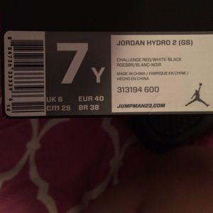 16fa449e64d2 Jordan Shoes - Jordan Hydro 2 (GS) slides