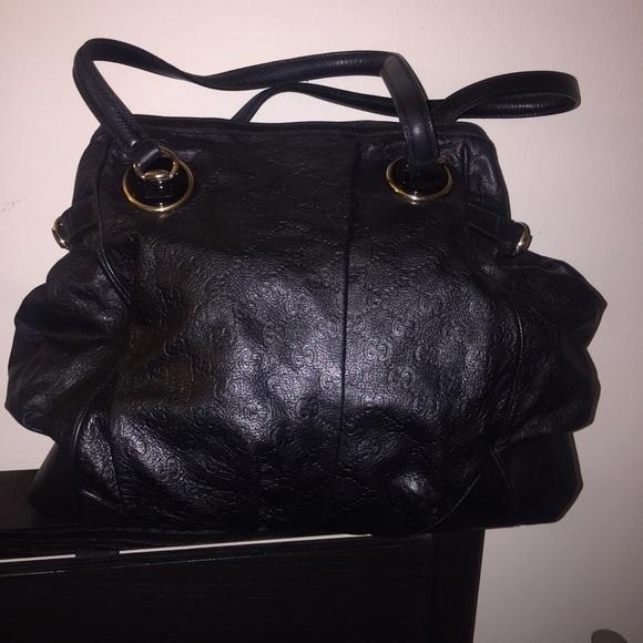 648ec79f8c7 Gucci Handbags - Gucci Full Moon Tote GG Guccisima Leather