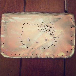 bb55bff53 Hello Kitty. Victoria Lasal Couture: Silver Hello Kitty Clutch