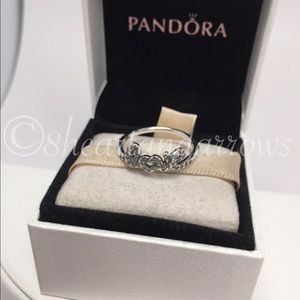 1bea04c12 ... cheapest pandora jewelry pandora signature of love clear ring pick ur  size 9aeee 8472d italy bn authentic ...