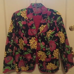 NY Collection Jackets & Blazers - Beautiful floral jacket
