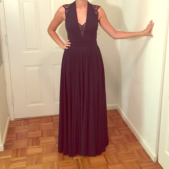 Catherine Deane Dresses | Navy Winona Gown | Poshmark