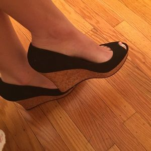 Fergie Shoes - New Suede Wedges.
